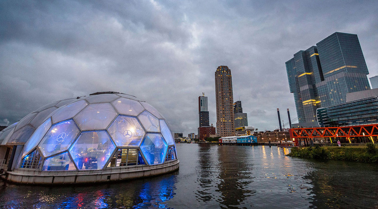 New company Holland Floating Solutions offers hybrid floating constructions